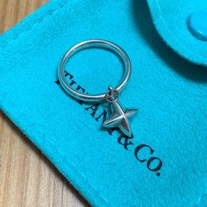 🌟 Tiffany & Co. North Star Charm Ring 🌟